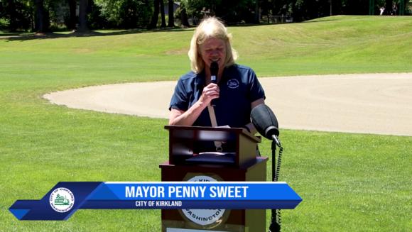 Mayor Sweet 132nd