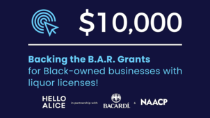 NAACP and Bacardi grants for Black-owned businesses