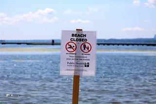 Juanita Beach Closed