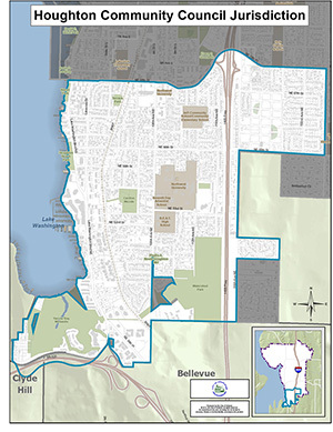 Houghton Community Council Map