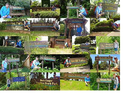 Kirkland Parks Collage