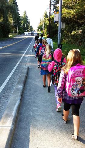 School Starts Soon! Traffic Alert!