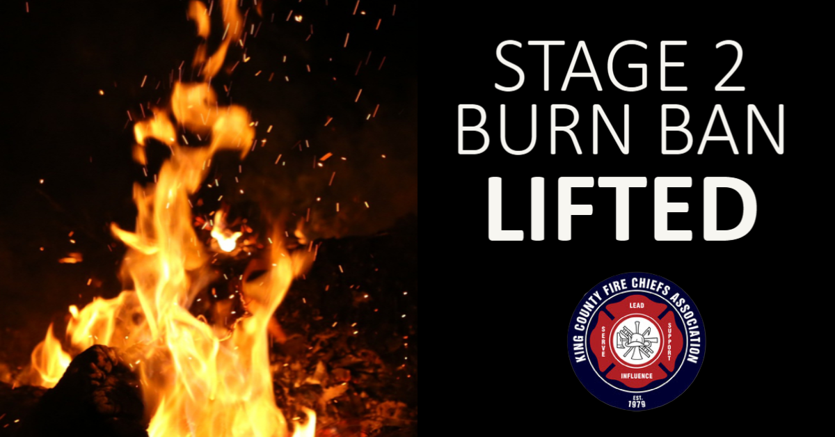 Stage 2 Burn Ban Lifted