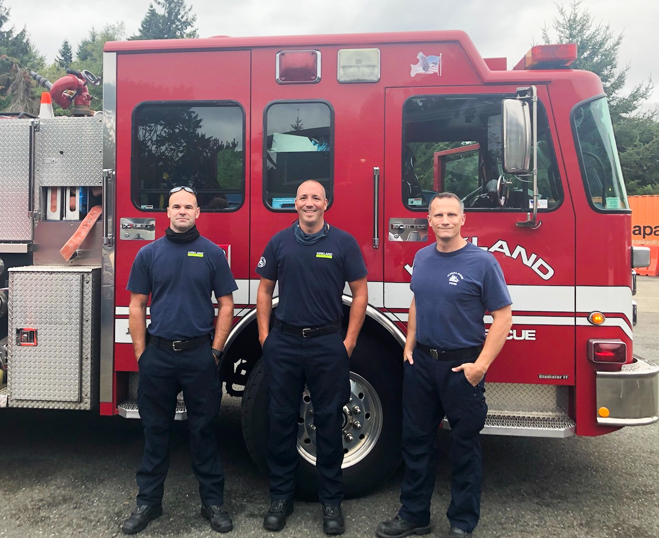 Fire fighters deployed to Caldor Fire