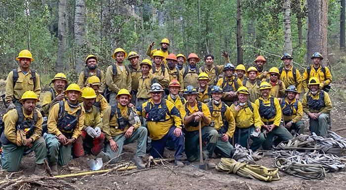 Caldor Wildfire Team