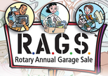 RAGS Rotary Annual Garage Sale