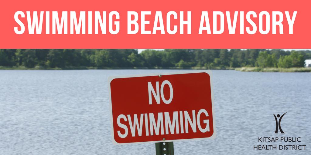 Swimming Beach Closed