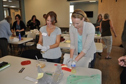 Homes for All cooking class