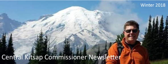 Commissioner Ed Wolfe's Winter Newsletter