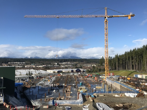 Harrison Hospital Construction