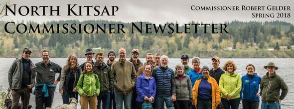 Commissioner Gelder's Spring Newsletter