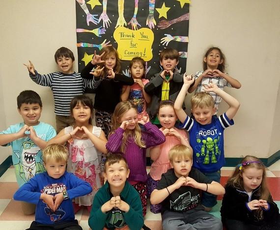 Jamye Lyons Kindergarten class