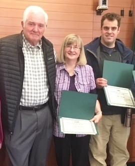Stricklin Family outstanding volunteer award