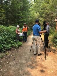 Filming BKAT at Coulter creek