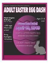 Kingston Adult Easter Egg Hunt 2019