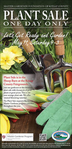 Master Gardener Plant Sale May 2019