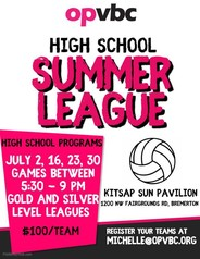 Olympic Premier Volleyball HS Summer League 2019