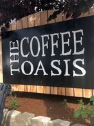 Coffee Oasis sign