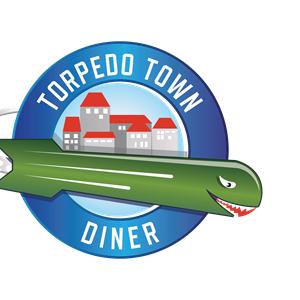 Torpedo Town Diner Logo