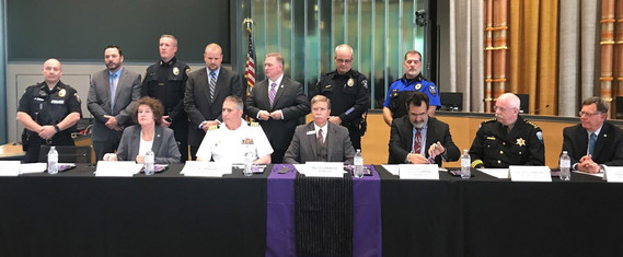 Domestic Violence proclamation signing
