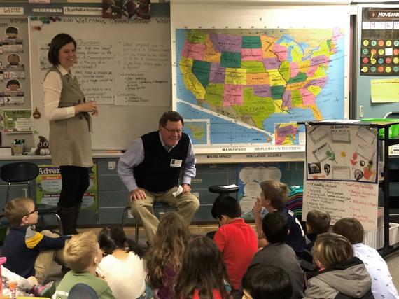 Emerald Heights Elementary School visit