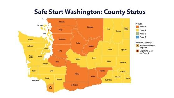 Safe start county status