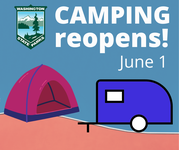 camping reopen June 1