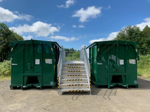 RAGF recycling 40 yard