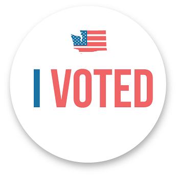 I voted WA