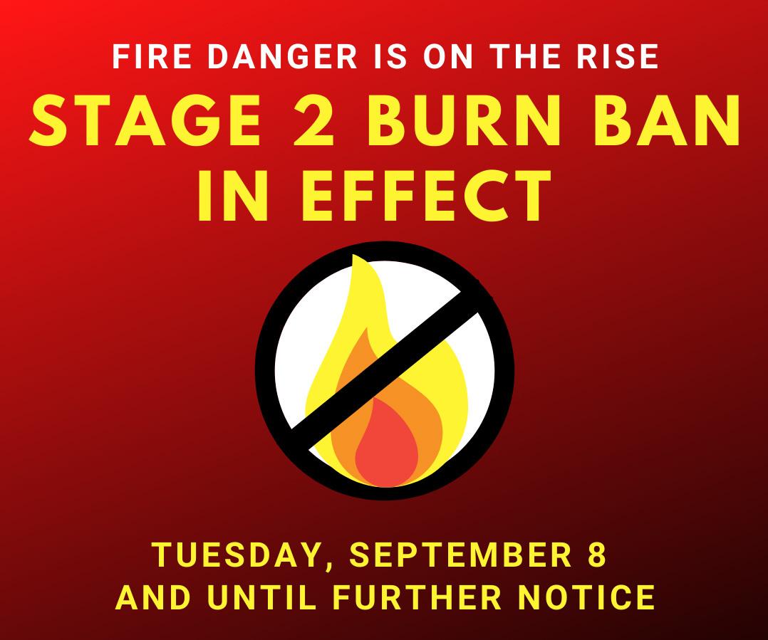 Phase 2 burn ban