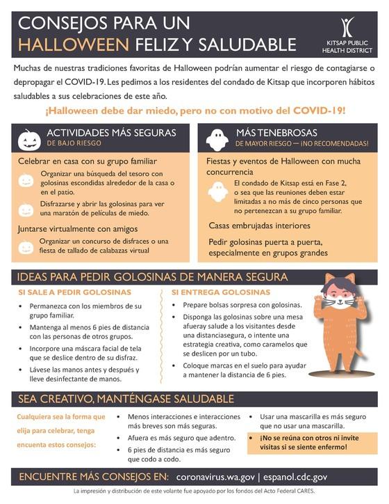 KPHD Halloween tips Spanish