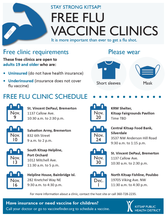 flu vaccine clinics