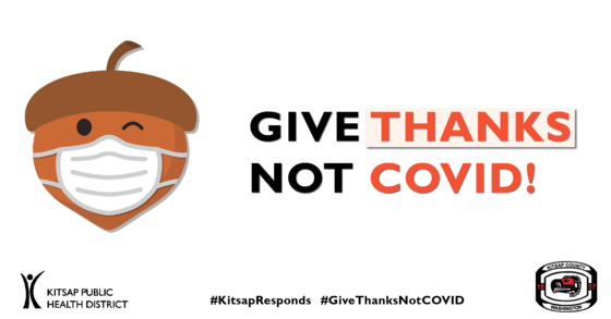 Give thanks not COVID