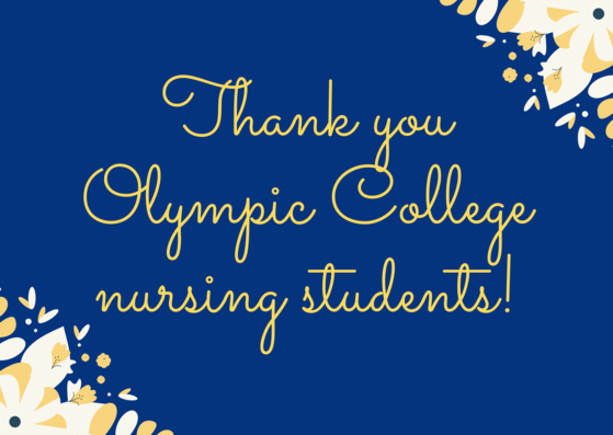 thank you OC nurses