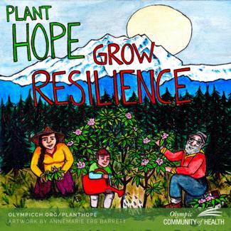 Plant hope grow resilience
