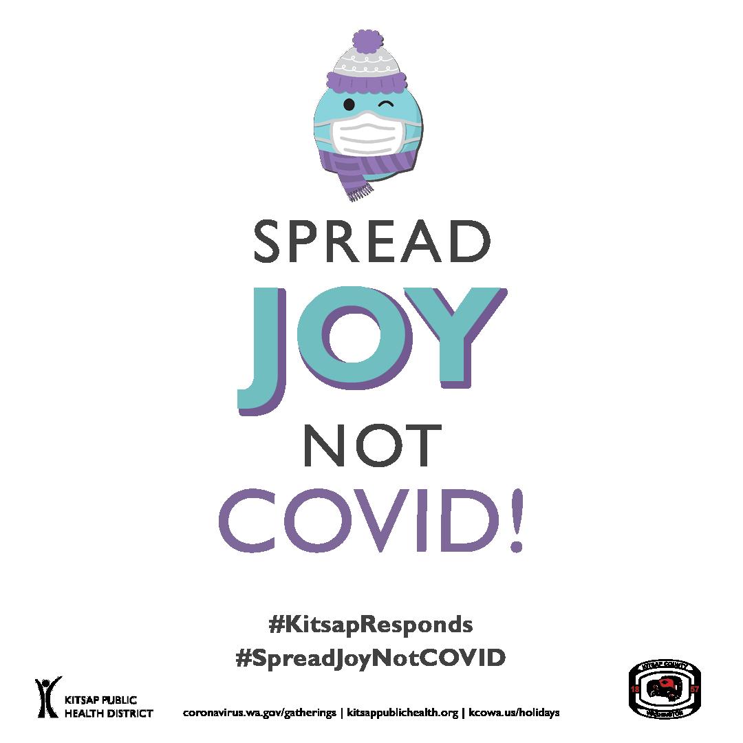 Spread Joy not COVID