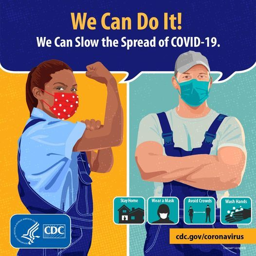We can do it - slow the spread CDC