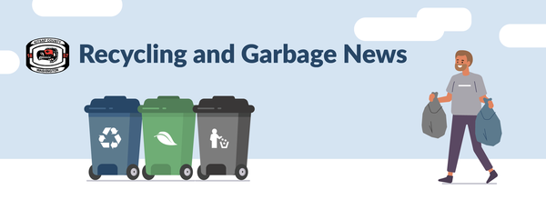Garbage Recycling Banner