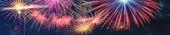 fireworks no banner
