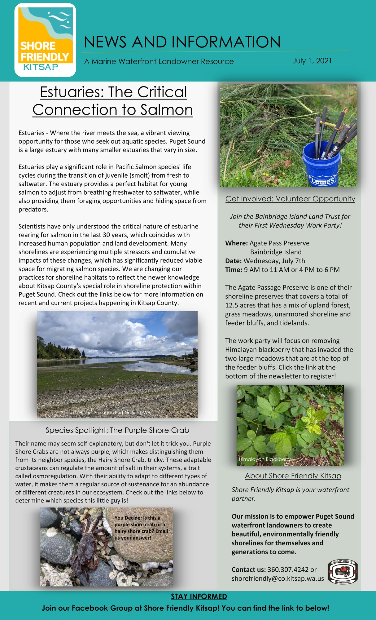 July Shore Friendly Newsletter