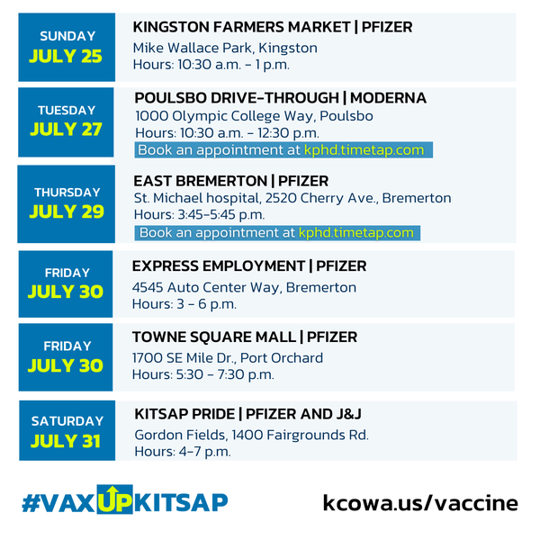 Vaccine clinics July 21b
