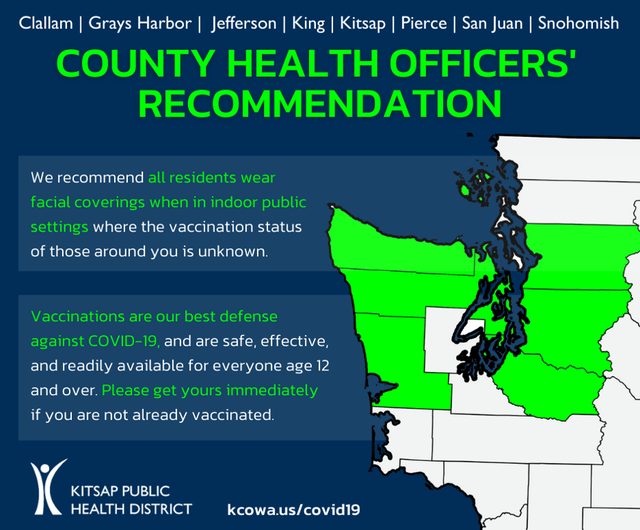 Health Officers recommendation