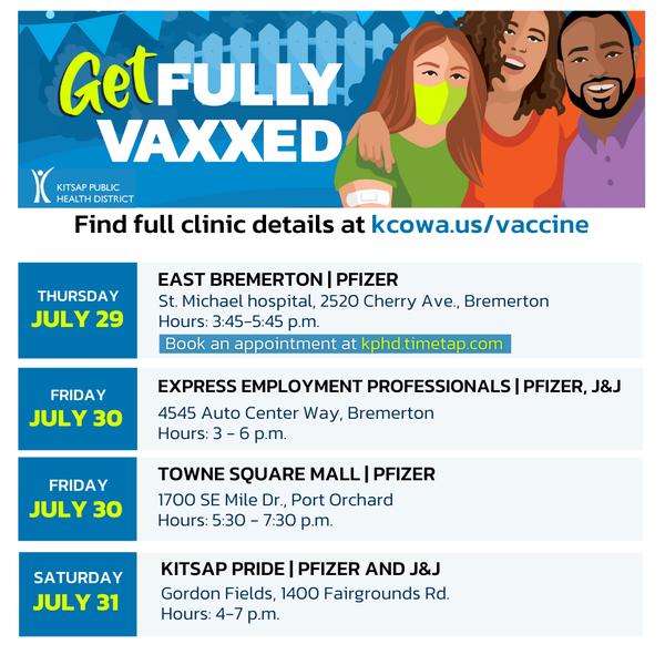 KPHD Vaccine Clinics - part 1