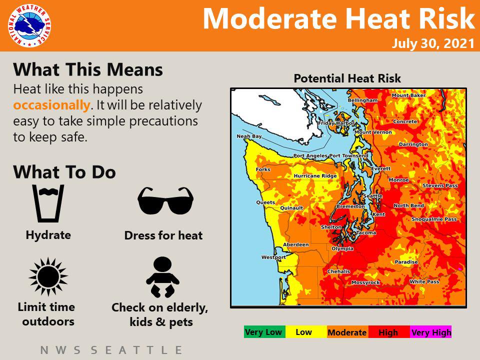Heat Risk July 30