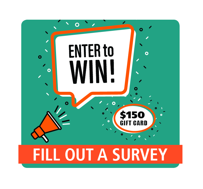 Click here to go to our survey!