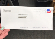 Example of letter to retailers with LCB  return address