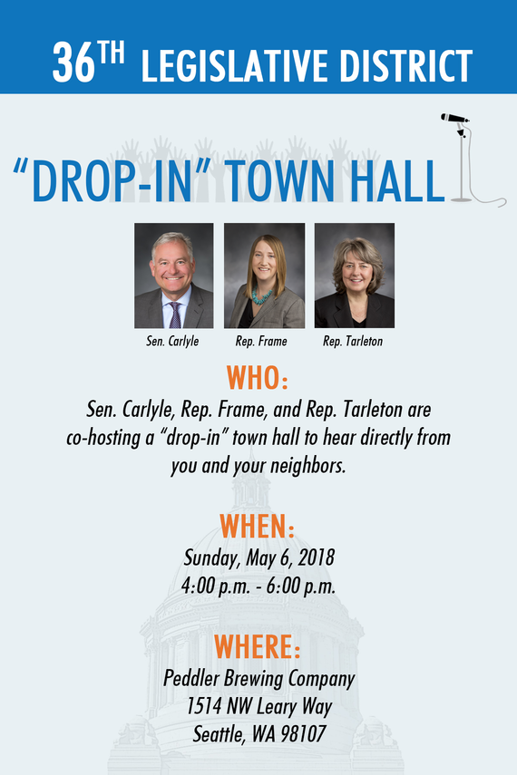 36th LD Drop-In Town Hall Information
