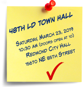 48th ld town hall