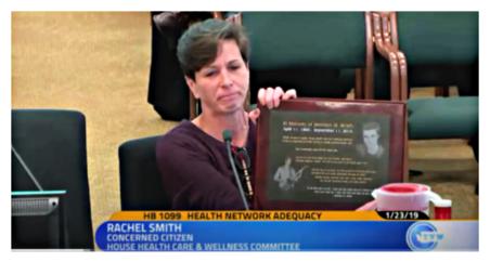 Rachel Smith testifying