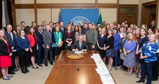 Orcas - vessels bill signing
